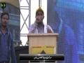 [AL-QUDS 2016] Karachi, Pakistan - Speech Br. Ali Mehdi President ISO - Urdu