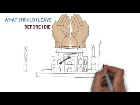 What should I leave before I Die - English