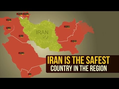 The Islamic Republic of Iran is the SAFEST country in the Region | Farsi sub English