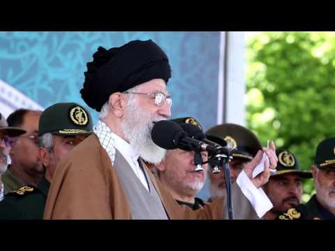 [Leader Speech] - 10 May 2017 - بیانات در دانشگاه امام حسین - Farsi
