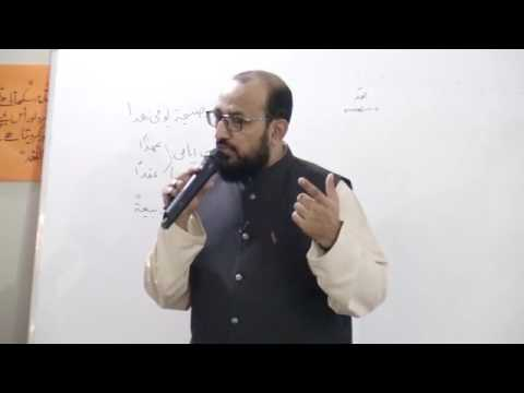 [ Lecture - 07 ] Topic: Imam kay liey 8 Groups   H.I Syed Sadiq Raza Taqvi - Urdu