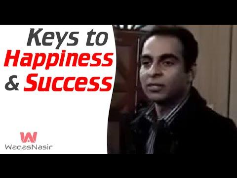 Keys to Success and Happiness | Qasim Ali Shah | Urdu/Hindi