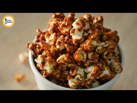 [Quick Recipes] Caramel Popcorn Recipe - English and Urdu