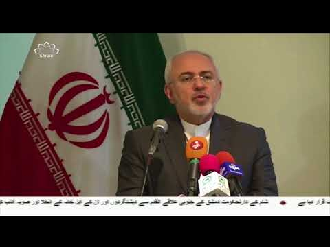 [13Mar2018] ایران کے وزیرِخارجہ اور پاکستان کے آرمی چیف کی ملاقات  - Urdu