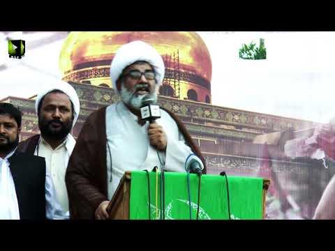 [Markazi Murdabad America Rally] Speech: H.I Raja Nasir Abbas | 13 May 2018 - Karachi - Urdu