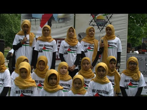 Al Quds Day Toronto   Poem by Al Haad Musallah Kids -English