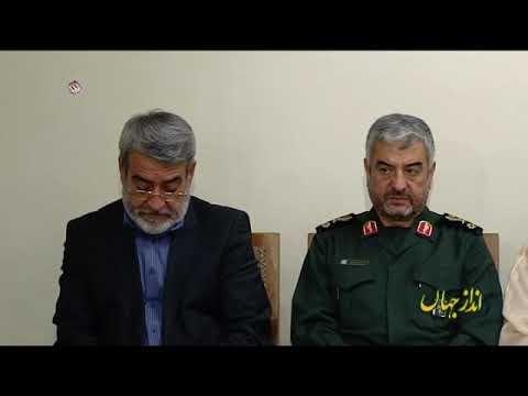[12Oct2018] ایران کی طاقت اور عظمت پر رہبر انقلاب اسلامی کی تاکید - Urdu