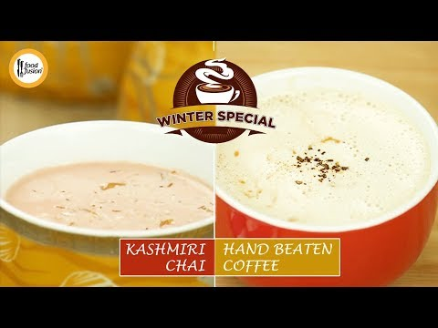 [Quick Recipe] Winter Special Kashmiri Chai and Hand Beaten Coffee - English Urdu