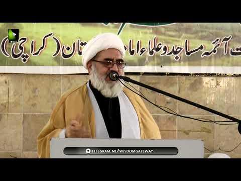 [Seminar] Seerat-e-Syeda Fatima Zehra (sa) Or Ulmaa Ka Kirdaar   H.I Hasan Salahuddin - Urdu