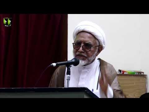 [Speech] H.I Mirza Yousuf Hussain   Youm e Mustafa (saww)   Federal Urdu University - Urdu