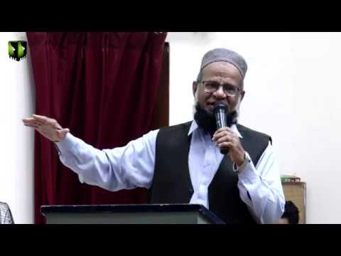 [Speech] Dr. Meraj ul Huda Siddiqui   Youm e Mustafa (saww)   Federal Urdu University - Urdu