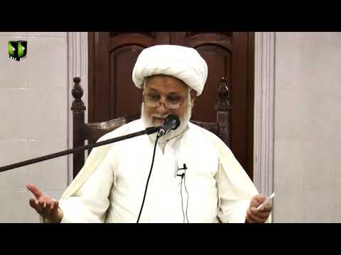 [Dars-e-Ikhlaaq 4 ] Topic: نوجوانوں کے اخلاقی مسائل  | H.I Ghulam Abbas Raesi - Urdu