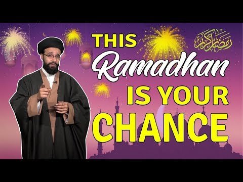 This Ramadhan is YOUR CHANCE   One Minute Wisdom   English