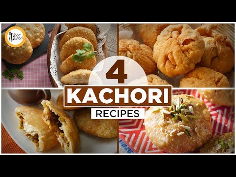 [Quick Recipe] 4 types of Kachori (Ramzan Special Recipes) - English Urdu