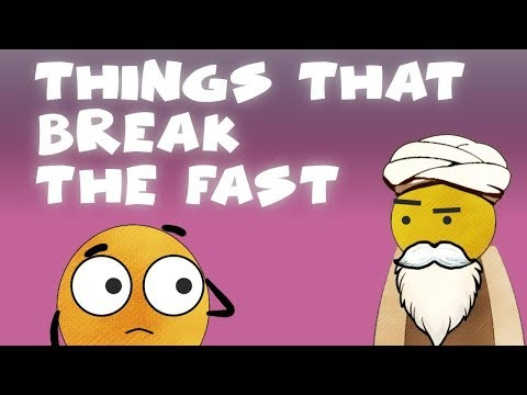 Things Which Break The Fast   BISKITOONS   English
