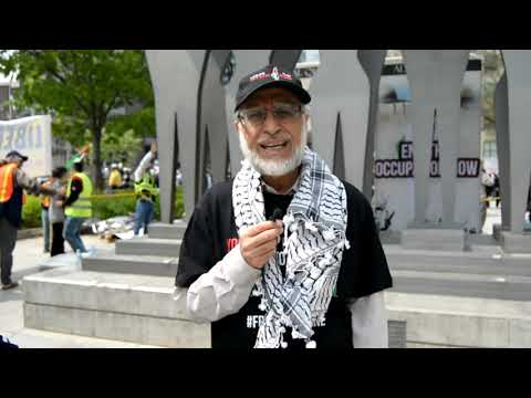 [Interview] Imam Zafar Bangash | Annual Walk for Al Quds 2019 | Toronto, Canada - English