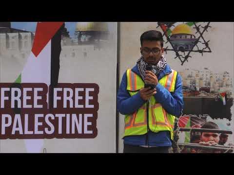 Quran Recitation - Toronto Al-Quds Rally 2019 - Canada - Arabic