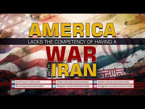 AMERICA Lacks the Competency of having a WAR with IRAN   Farsi Sub English