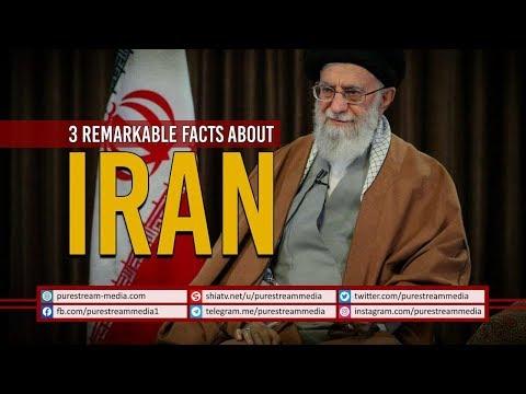 3 Remarkable Facts About IRAN   Imam Sayyid Ali Khamenei   Farsi Sub English