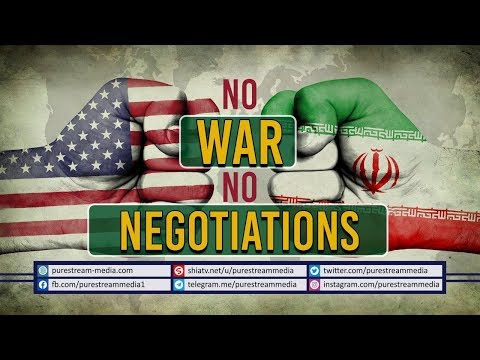 NO WAR NO NEGOTIATIONS   A brief Report about IRAN - US relations   Farsi Sub English