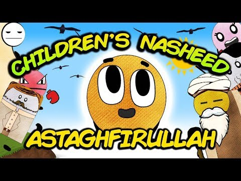 Astaghfirullah - Islamic song nasheed about Repentance | BISKITOONS | English