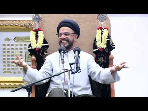 2nd Majlis Shab 2nd Muharram 1441/01.09.2019 Topic:Challenges Faced By Today\'s Youth I HI Syed Mohammad Zaki Baqri-Urdu