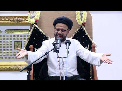 4th Majlis Shab 4th Muharram 1441/03.09.2019 Topic:Challenges Faced By Today\'s Youth I HI Syed Mohammad Zaki Baqri-Urdu