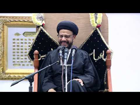 6th Majlis Shab 6th Muharram 1441/05.09.2019 Topic:Challenges Faced By Today\'s Youth I HI Syed Mohammad Zaki Baqri-Urdu