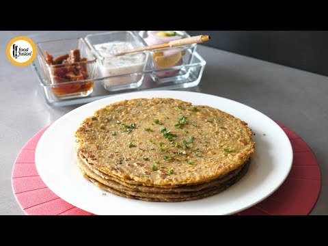 [Quick Recipes] Methi Daal Paratha - English Urdu