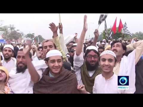 [02/11/19] Crowds gather for anti-government protest in Islamabad - English
