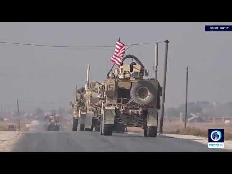 [02/11/19] U.S. troops patrol near Turkey-Syria border - English