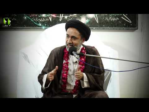 [Clip] Ishq e Rasool (saww) kay Haqeqi Taqazay   H.I Muhammad Haider Naqvi - Urdu