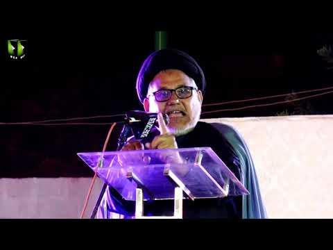[Speech] Tahafuz-e-Namoos-e-Imam Mehdi (as) Conference | H.I Hasan Zafar Naqvi - Urdu