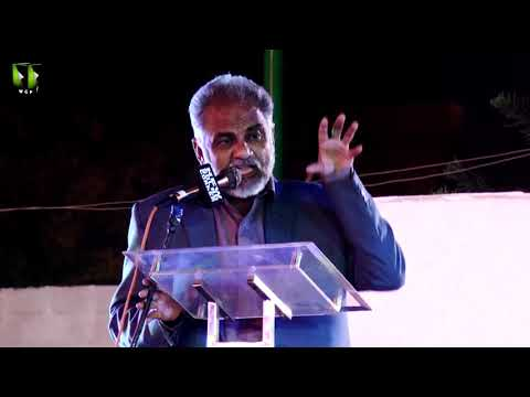 [Speech] Tahafuz-e-Namoos-e-Imam Mehdi (as) Conference | Janab Sohail Ahmed - Urdu