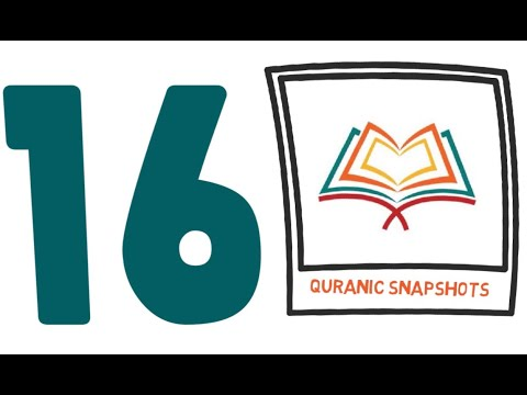[Buid relationship with Quran] One Ayat from Juz 16 of Quran - English