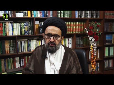 [Dars] Surah Jumma - Part 2 | Tafsir-e-Quran Baraey Nojawan | H.I Sadiq Raza Taqvi - Urdu