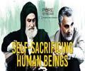 Self-Sacrificing Human Beings   Martyr Qasem Soleimani   Farsi Sub English