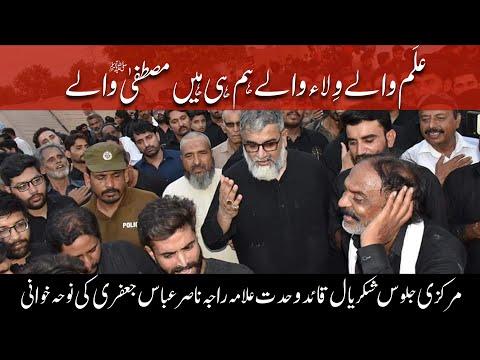 Alam waly wila waly hum hi hain Mustafa waly | Noha | Allama Raja Nasir Abbas Jaffri | Urdu