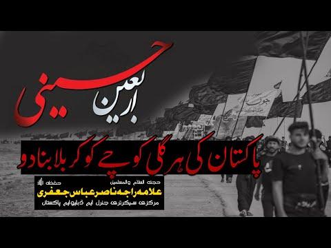 Arbaeen e Hussaini a.s | Pakistan ki hr gali kochy ko karbala bna den gy | Urdu