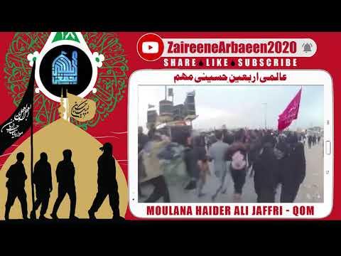 Clip | Moulana Haider Ali Jaffri  | Ziarat Imam Hussain Wajib? | Aalami Zaireene Arbaeen 2020