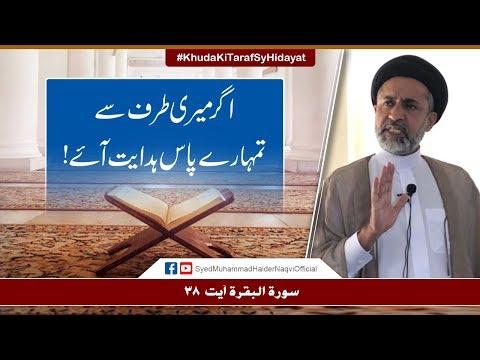 Agar Meri Taraf Sy Tumhary Paas Hidayat Aye! | Ayaat-un-Bayyinaat | Hafiz Muhammad Haider Naqvi | Urdu