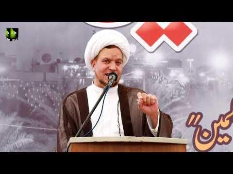 [Youm-e-Hussain as] Speech: Moulana Ayjaz Bahistte   Karachi University   Safar 1442/2020   Urdu
