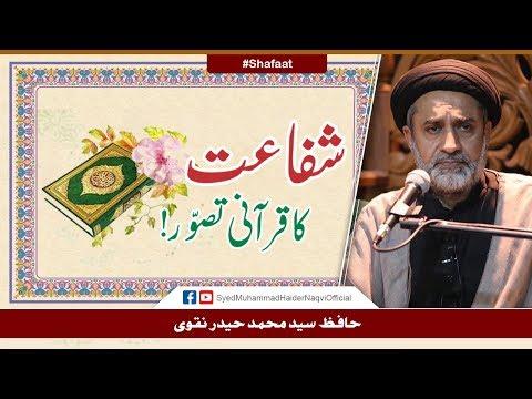 Shafaat Ka Qurani Tasawwur! | Ayaat-un-Bayyinaat | Hafiz Syed Muhammad Haider Naqvi | Urdu