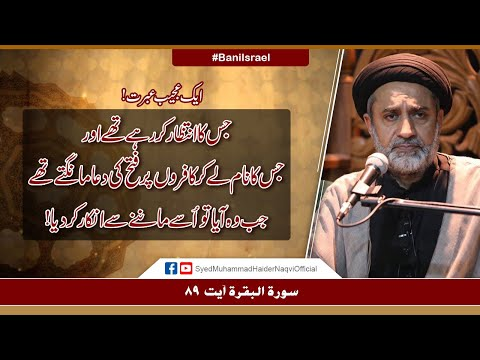 Aik Ajeeb Ibrat! | Ayaat-un-Bayyinaat | Hafiz Syed Muhammad Haider Naqvi | Urdu