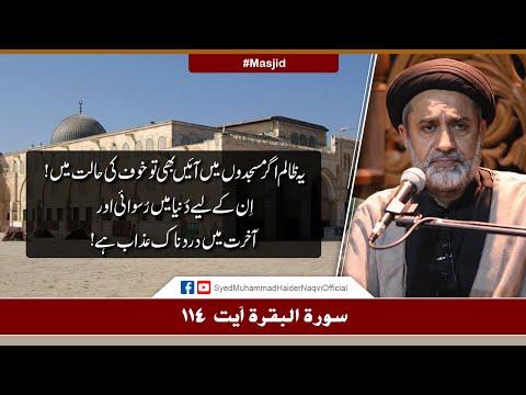 Ye Zalim Agar Masjidon Main Aaien Bhi Tu Khof Ki Halat Main! | Ayaat-un-Bayyinaat | S Haider Naqvi | Urdu