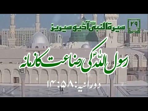 [29]Topic: Breastfeeding Period of Holy Prophet PBUH | Maulana Muhammad Nawaz - Urdu