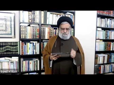 [ Hadith] 5 Signs of a True Believer according to the 4th Imam - Maulana Syed Muhammad Rizvi | English