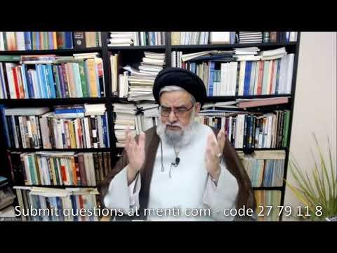 [Short Lecture + Q&A Session] Rituals of a Marhum\'s 40th - Maulana Syed Muhammad Rizvi | English