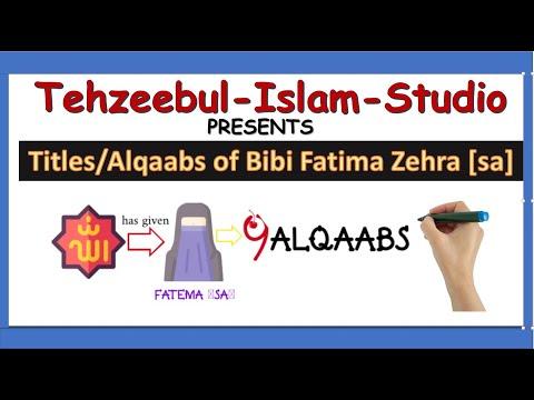 Alqabat e Fatima Zahra s.a | Whiteboard Animation | Urdu