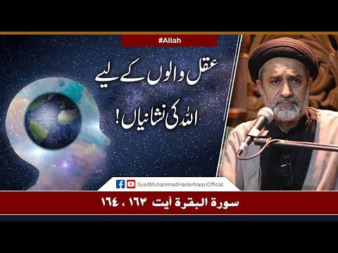 Aql Walon Kay Liye Allah Ki Nishaniyan!   Ayaat-un-Bayyinaat   Hafiz Syed Muhammad Haider Naqvi   Urdu